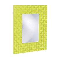 Howard Elliott Collection 21114MG Justin 26 X 22 inch Green Wall Mirror, Rectangle photo thumbnail