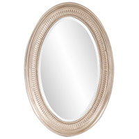 Ethan 31 X 21 inch Nickel Wall Mirror, Oval