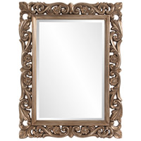 Howard Elliott Collection 2113 Chateau 42 X 31 inch Antique French Pewter Wall Mirror, Rectangle photo thumbnail