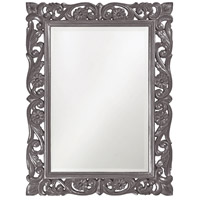 Howard Elliott Collection 2113CH Chateau 42 X 31 inch Charcoal Gray Wall Mirror, Rectangle photo thumbnail