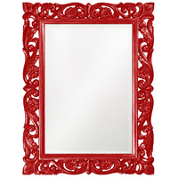 Howard Elliott Collection 2113R Chateau 42 X 31 inch Red Wall Mirror, Rectangle photo thumbnail