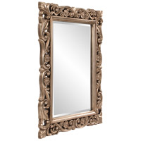 Howard Elliott Collection 2113 Chateau 42 X 31 inch Antique French Pewter Wall Mirror, Rectangle alternative photo thumbnail