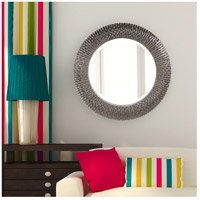 Howard Elliott Collection 21143CH Bergman 32 X 32 inch Glossy Charcoal Wall Mirror alternative photo thumbnail