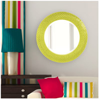 Howard Elliott Collection 21143MG Bergman 32 X 32 inch Green Wall Mirror, Round, Small alternative photo thumbnail
