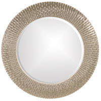 Bergman 32 X 32 inch Metallic Black Wall Mirror, Round
