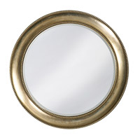 Howard Elliott Collection 2118 Saturn 40 X 40 inch Burnished Silver Leaf Wall Mirror, Round photo thumbnail