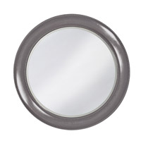 Howard Elliott Collection 2118CH Saturn 40 X 40 inch Charcoal Gray Wall Mirror, Round photo thumbnail
