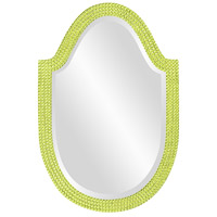 Howard Elliott Collection 2125MG Lancelot 32 X 21 inch Moss Green Wall Mirror, Oval photo thumbnail