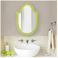 Howard Elliott Collection 2125MG Lancelot 32 X 21 inch Moss Green Wall Mirror, Oval alternative photo thumbnail