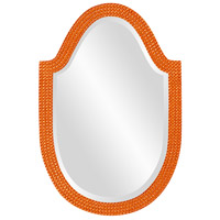 Howard Elliott Collection 2125O Lancelot 32 X 21 inch Orange Wall Mirror, Oval photo thumbnail