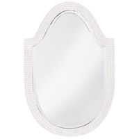 Howard Elliott Collection 2125W Lancelot 32 X 21 inch White Wall Mirror, Oval photo thumbnail