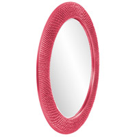 Howard Elliott Collection 2128HP Bergman 32 X 32 inch Hot Pink Wall Mirror, Round, Large alternative photo thumbnail