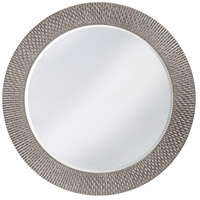 Howard Elliott Collection 2128N Bergman 32 X 32 inch Nickel Wall Mirror, Round, Large photo thumbnail