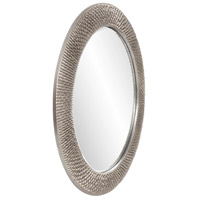 Howard Elliott Collection 2128N Bergman 32 X 32 inch Nickel Wall Mirror, Round, Large alternative photo thumbnail