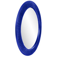 Howard Elliott Collection 2128RB Bergman 32 X 32 inch Royal Blue Wall Mirror, Round, Large alternative photo thumbnail