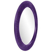 Howard Elliott Collection 2128RP Bergman 32 X 32 inch Royal Purple Wall Mirror, Round, Large alternative photo thumbnail