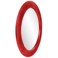 Howard Elliott Collection 2128R Bergman 32 X 32 inch Red Wall Mirror, Round, Large alternative photo thumbnail