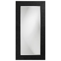 Howard Elliott Collection 2142BL Lancelot 32 X 21 inch Glossy Black Wall Mirror, Rectangle photo thumbnail