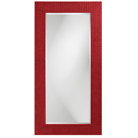 Howard Elliott Collection 2142R Lancelot 32 X 21 inch Red Wall Mirror, Rectangle photo thumbnail