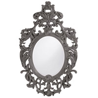 Howard Elliott Collection 2146CH Dorsiere 50 X 31 inch Glossy Charcoal Wall Mirror photo thumbnail