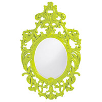 Howard Elliott Collection 2146MG Dorsiere 50 X 31 inch Green Wall Mirror, Oval thumb