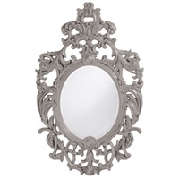 Howard Elliott Collection 2146N Dorsiere 50 X 31 inch Nickel Wall Mirror, Oval photo thumbnail