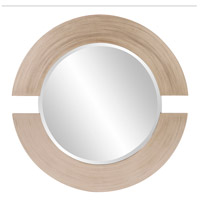 Howard Elliott Collection 2180 Orbit 38 X 38 inch Silver Leaf Wall Mirror, Round photo thumbnail