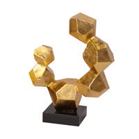 Howard Elliott Collection 25103S Geometric 24 X 22 inch Sculpture, Black Base, Small  photo thumbnail