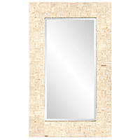 Howard Elliott Collection 25161 Salvador 43 X 26 inch Natural Capiz Shells Wall Mirror photo thumbnail