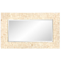 Howard Elliott Collection 25161 Salvador 43 X 26 inch Natural Capiz Shells Wall Mirror alternative photo thumbnail