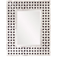Colton 41 X 33 inch Black and Clear Mirror Home Decor, Rectangle