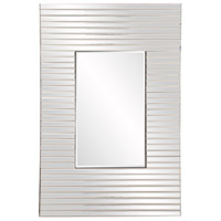 Edge 36 X 21 inch Clear Mirror Home Decor, Rectangle, Bowed Effect