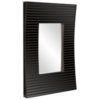 Howard Elliott Collection 29012 Edge 36 X 21 inch Black Wall Mirror, Rectangle, Bowed Effect alternative photo thumbnail