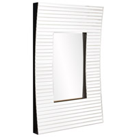 Howard Elliott Collection 29013 Edge 36 X 21 inch White Wall Mirror, Rectangular, Bowed Effect alternative photo thumbnail