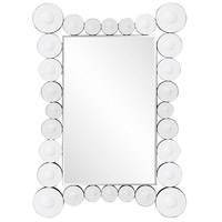 Howard Elliott Collection 29028 Saturn 39 X 27 inch Wall Mirror, Rectangle