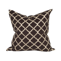 Howard Elliott Collection 3-609F Davida Kay 24 inch Moroccan Onyx Pillow, with Down Insert photo thumbnail