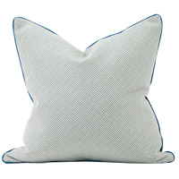 Howard Elliott Collection 3-642F Madcap Cottage 24 inch Beach Club Ocean Pillow, with Down Insert photo thumbnail