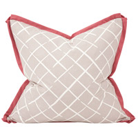 Howard Elliott Collection 3-673F Madcap Cottage 24 inch Cove End Summer Pillow, with Down Insert photo thumbnail