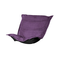 Howard Elliott Collection 300-223P Bella Eggplant Purple Chair Cover photo thumbnail
