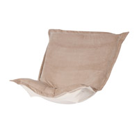 Howard Elliott Collection 300-224P Bella Bold Neutral Sand Chair Cover photo thumbnail