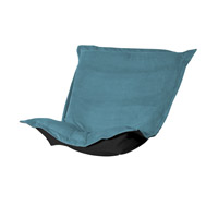 Howard Elliott Collection 300-250P Mojo Turquoise Blue Chair Cover photo thumbnail