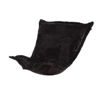 Mink Black Chair Cover