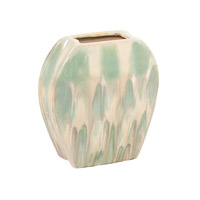 Signature Sea Green Glaze Vase, Small