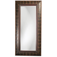 Howard Elliott Collection 33017 Pamela 40 X 3 inch French Brown Floor Mirror, Rectangle