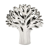 Howard Elliott Collection 34136 Silver Tree 12 X 12 inch Sculpture