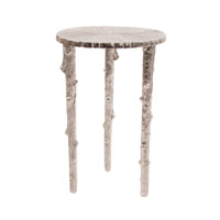Howard Elliott Collection 35061 Silver Tree 17 inch Raw Silver Pedestal