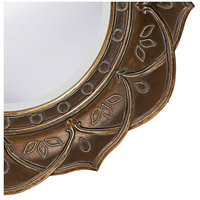 Howard Elliott Collection 37013 Erica 23 X 23 inch Antique Copper Wall Mirror, Round alternative photo thumbnail
