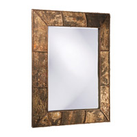 Howard Elliott Collection 37023 Aggawak 54 X 44 inch Birch Bark Wall Mirror, Rectangle photo thumbnail