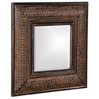 Howard Elliott Collection 37046 Grant 39 X 31 inch Antique Brown Wall Mirror, Square photo thumbnail