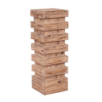 Howard Elliott Collection 37128 Stepped 37 X 12 inch Natural Wood Pedestal